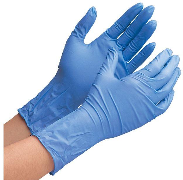 ミドリ安全ニトリル手袋