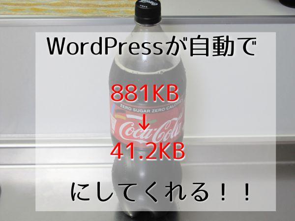 知らなかった!WordPressは「画像サイズを小さくリサイズしなくても大丈夫」【そのままアップしても画像サイズは重くならない】