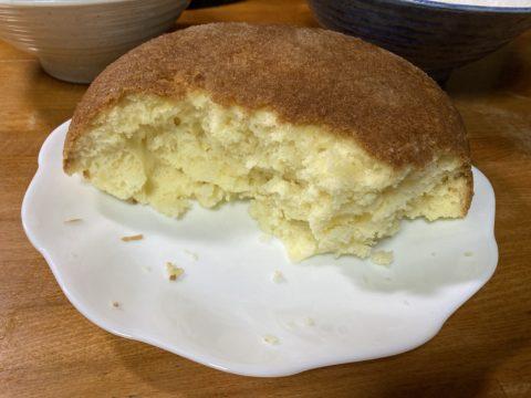 炊飯器で作ったホットケーキ