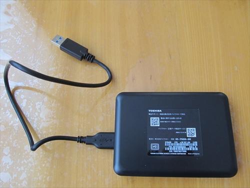 東芝 Canvio HD-TPA2U3-B/N ケーブル1本でつながるのが素晴らしい